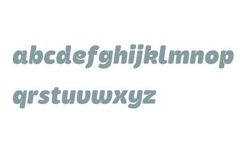 Kasia ExtraBold Italic