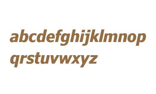 Verdana Pro W01 Cn Bold Italic
