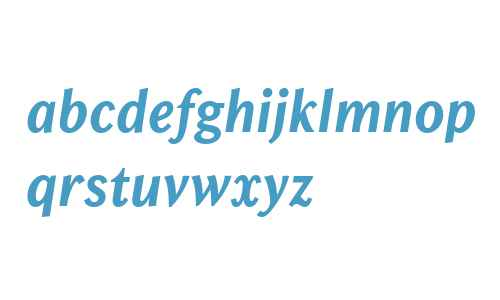 Chong Old Style W04 Bold Italic
