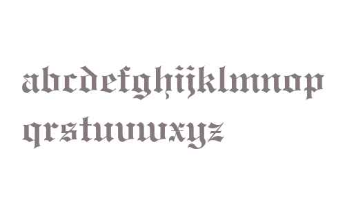 Engravers' Old English Bold BT