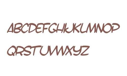 SF Toontime B Italic V2