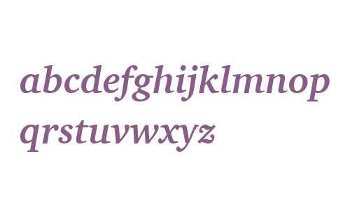 Charter ITC W04 Bold Italic