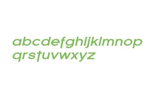 SF Florencesans Exp Bold Italic