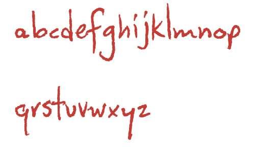 CozyFontsFoundryHandwrittenFontsW00Handwritten