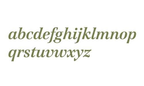 Jamille ITC Std Bold Italic