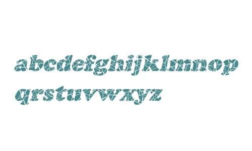 Marshmallow Cracked Italic