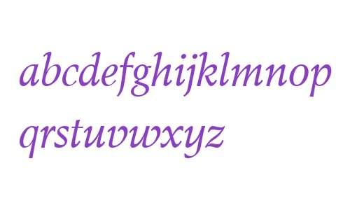Toshna Std Book W03 Italic OSF