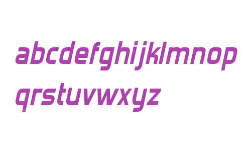 Forgotten Futurist Bold Italic V2 V2