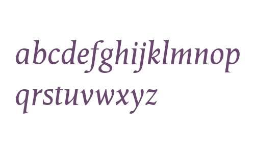 Octavian W01 Italic
