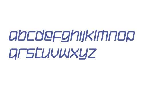 Hydrogen W01 Bold Italic