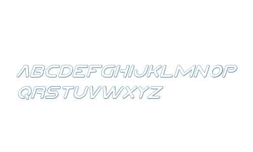 Planet N Compact 3D Italic