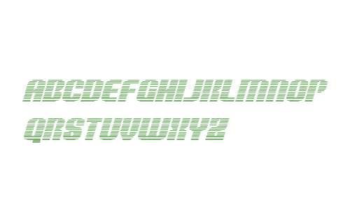 Nightwraith Gradient Italic