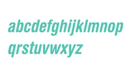 Helvetica Rounded LTW04BdCnObl