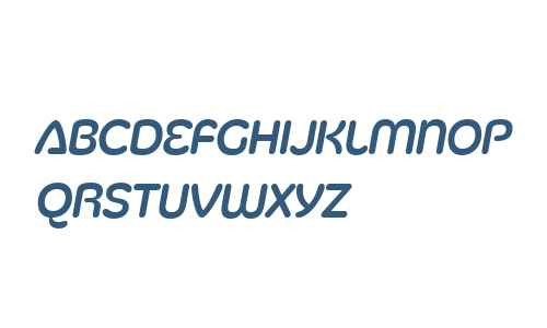 Silicone W00 Italic