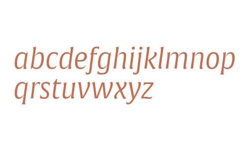 Alverata W07 PE Light Italic