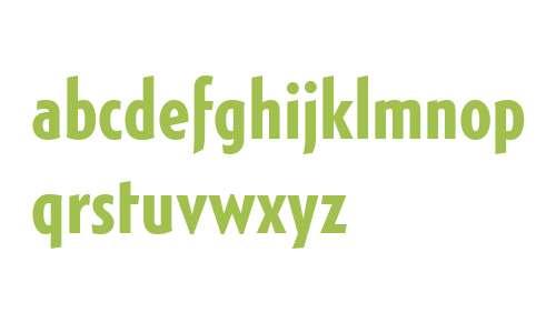 Generica Condensed W01 Bold