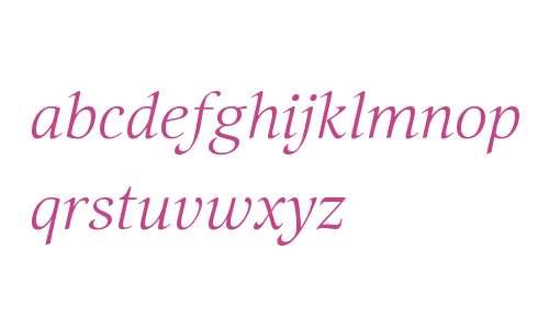 Selina W08 Calligraphic