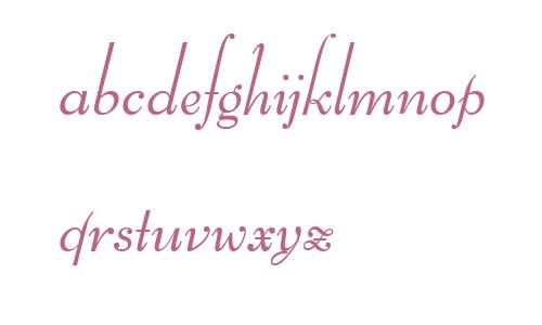 Bernhard Schoenschrift EF  Light
