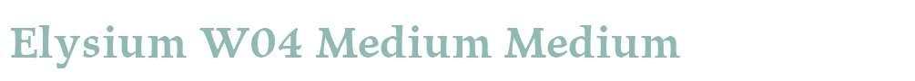 Elysium W04 Medium