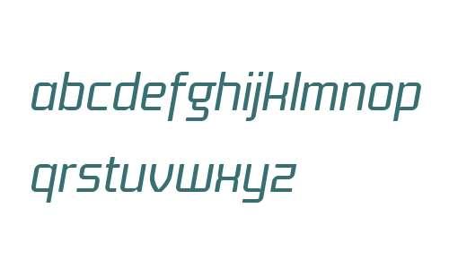 Titan Text W04 Italic
