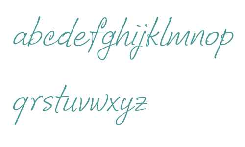 CorradineHandwriting-Italic