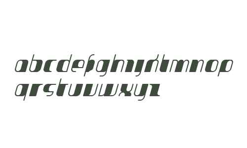 JakoneCondensed Bold Italic W00
