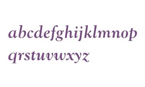 Goudy MT Std Bold Italic