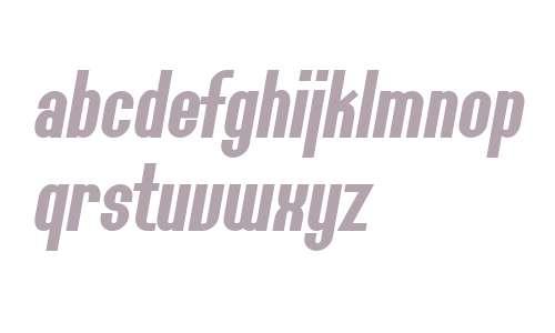 SF Willamette Bold Italic V2 V2