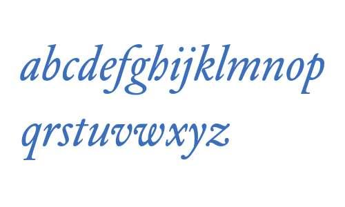 DTLElzevirSTBook-Italic