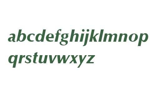 Optane ExtraBold Italic V2