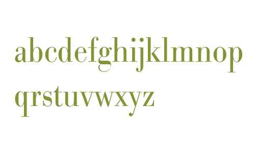 URW Bodoni W01 Light XNarrow