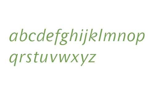Wunderlich OT W03 Italic