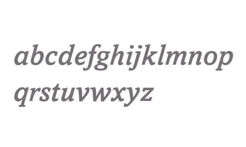 Amasis MT W04 Medium Italic