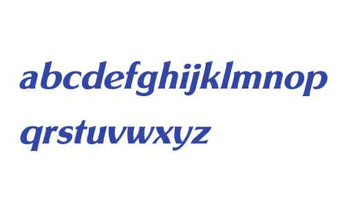 SouvenirGotURWTOTDem W03 Italic