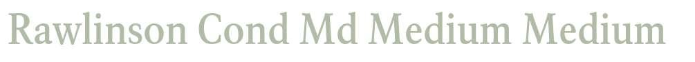 Rawlinson Cond Md Medium