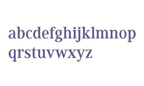 Generis Serif W04 Bold