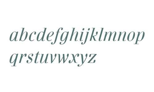 Danubia OT W01 Italic