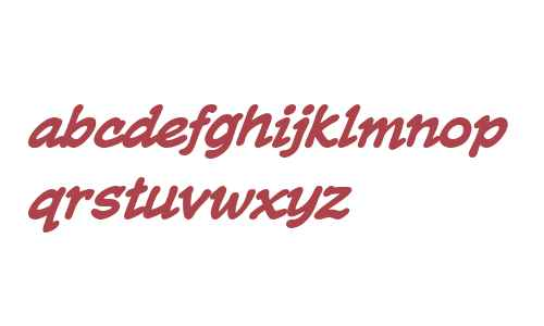 CCTrueBeliever Bold Italic