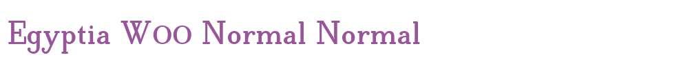 Egyptia W00 Normal