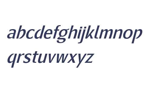 Metamoderna W01 Reg Italic