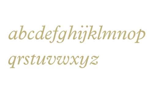 Plantin Infant MT Std Italic
