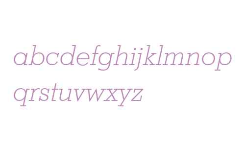 Stymie Lt BT Light Italic