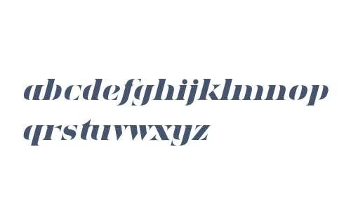 Sensaway Heavy Italic