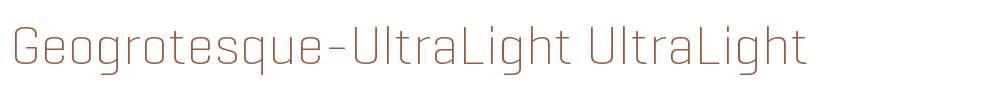 Geogrotesque-UltraLight