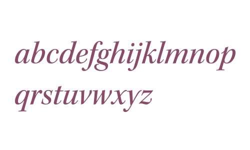 Kepler Std Medium Italic Subhead