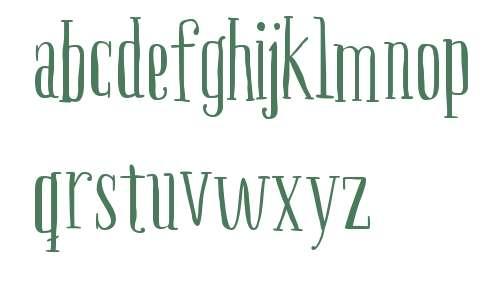 Boho Serif W00 Regular