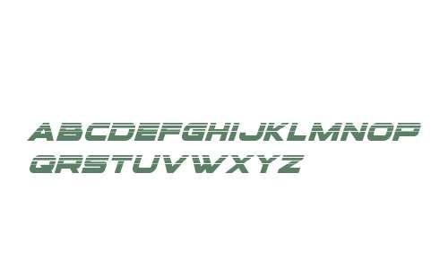 voxBOX Halftone Italic