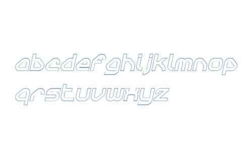 Sylar W00 Outline Italic