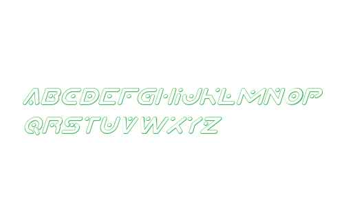 Planet X Compact 3D Italic