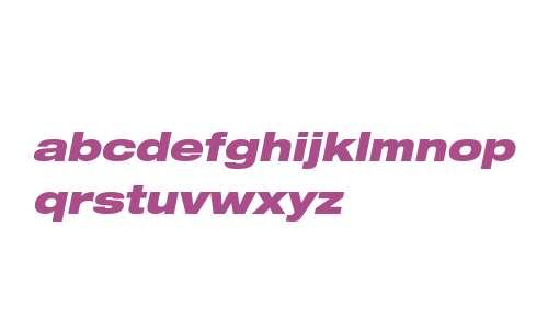 Helvetica Neue LTW0193BlkExObl